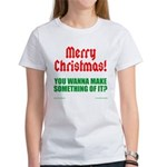 Christmas Attitude Women's T-Shirt