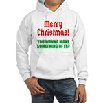 Christmas Attitude Hooded Sweatshirt
