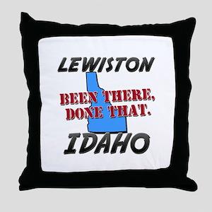 lewiston idaho - been there, done that Throw Pillo