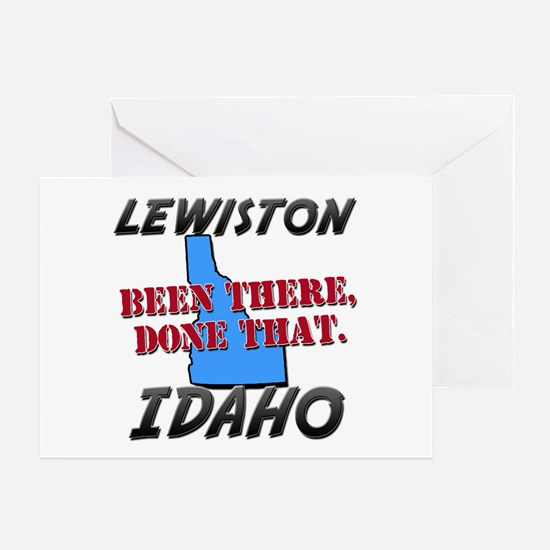 lewiston idaho - been there, done that Greeting Ca