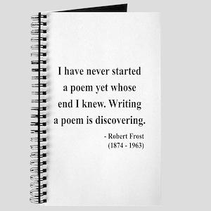 Robert Frost 12 Journal
