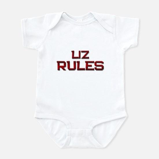 liz rules Infant Bodysuit