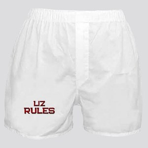 liz rules Boxer Shorts