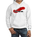 Just Tap Out - BJJ hooded sweatshirt