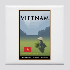 Vietnam Tile Coaster