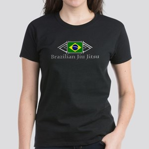 Brazilian Jiu Jitsu - Black Women's Dark T-Shirt