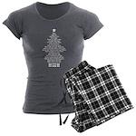 Silent Night Women's Charcoal Pajamas