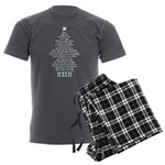 Silent Night Men's Charcoal Pajamas