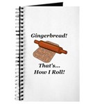 Gingerbread How I Roll Journal