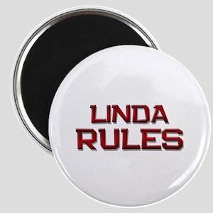 linda rules Magnet