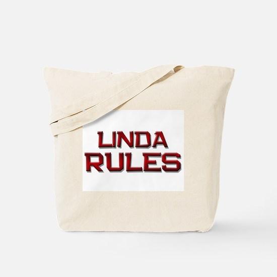 linda rules Tote Bag