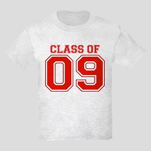 Class Of 09 (Red Varsity) Kids Light T-Shirt