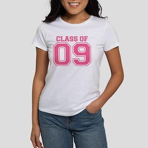 Class Of 09 (Pink Varsity) Women's T-Shirt