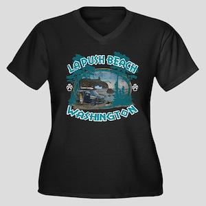 Twilight Shirt-La Push Beach,Washington Women's Pl