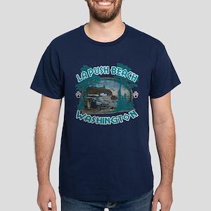 Twilight Shirt-La Push Beach,Washington Dark T-Shi