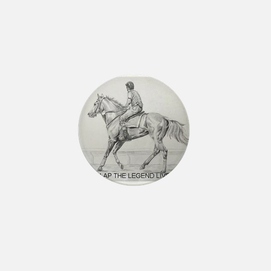 Cute Jockey Mini Button