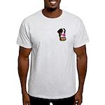 Greater Swiss Mtn Dog Draft Light T-Shirt