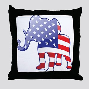 """Republican"" Throw Pillow"
