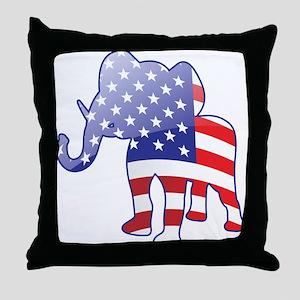 """""""Republican"""" Throw Pillow"""