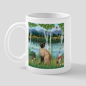 Birches / Siamese Mug