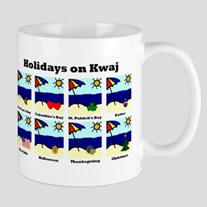 Holidays on Kwaj (Mug)