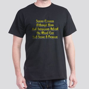 Senior Citizens Dark T-Shirt
