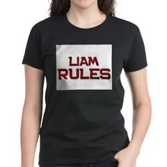 liam rules Women's Dark T-Shirt