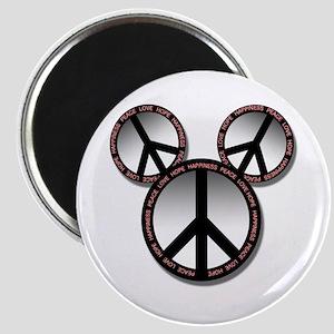 "Peace love hope black 2.25"" Magnet (10 pack)"