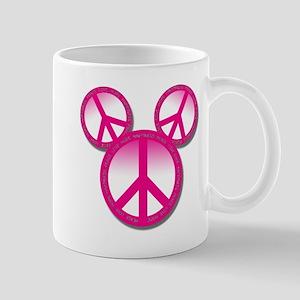 Peace love hope pink Mug