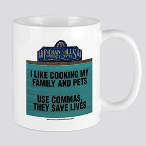 I Like Cooking My Family and Pets Mugs