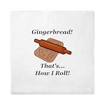 Gingerbread How I Roll Queen Duvet