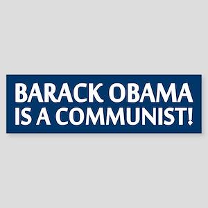 Barack Obama Is A Communist Bumper Sticker