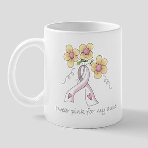 Pink For Aunt Mug