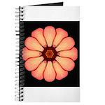 Orange-Red Zinnia I Journal