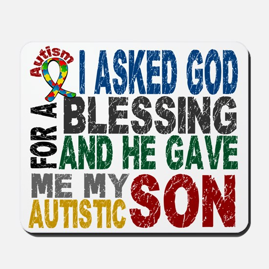 Blessing 5 Autistic Son Mousepad