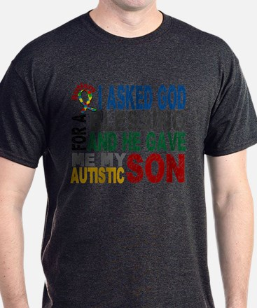 Blessing 5 Autistic Son T-Shirt