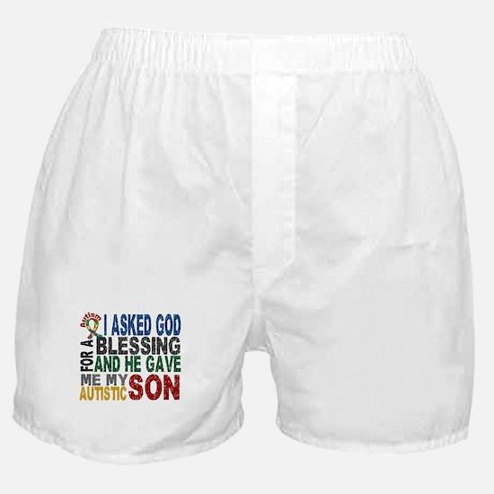Blessing 5 Autistic Son Boxer Shorts