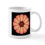 Orange-Red Zinnia I Mug