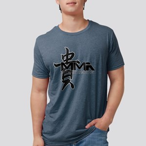 MMA Kanji Honor - Black Logo T-Shirt