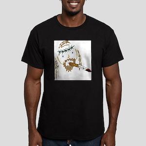 Jesus Smoking Christian Crack Men's Fitted T-Shirt
