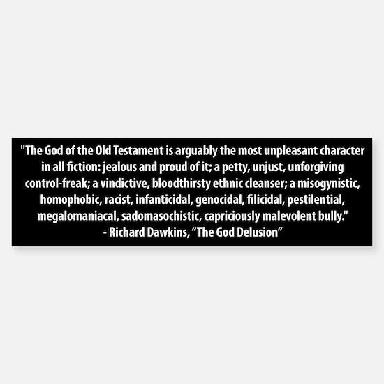 Richard Dawkins quote bumper sticker