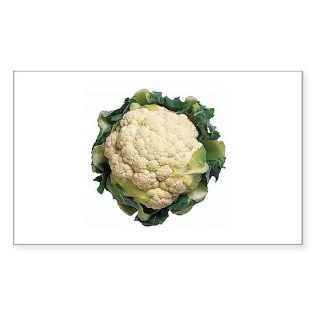 Cauliflower Rectangle Sticker 50 pk)