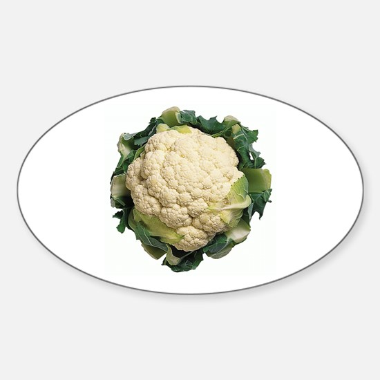 Cauliflower Oval Decal