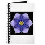 Blue Pansy I Journal