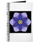 Blue Pansy I Journal