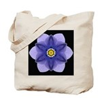 Blue Pansy I Tote Bag