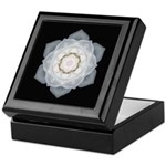 White Rose I Keepsake Box