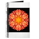 Orange Dahlia II Journal