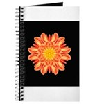 Orange Dahlia I Journal