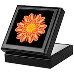Orange Dahlia I Keepsake Box